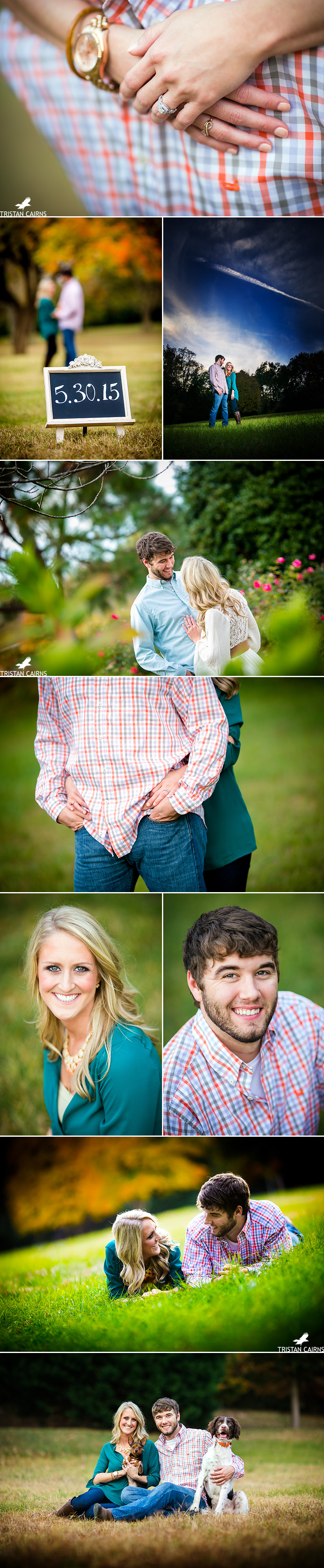 Auburn Alabama Engagement Session